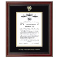 West Point Diploma Frame, the Fidelitas
