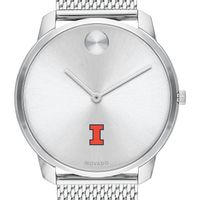 University of Illinois Men's Movado Stainless Bold 42