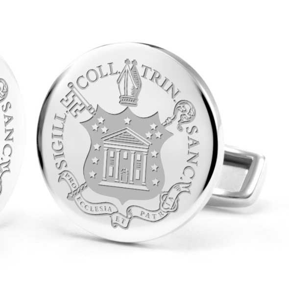Trinity College Cufflinks in Sterling Silver - Image 2