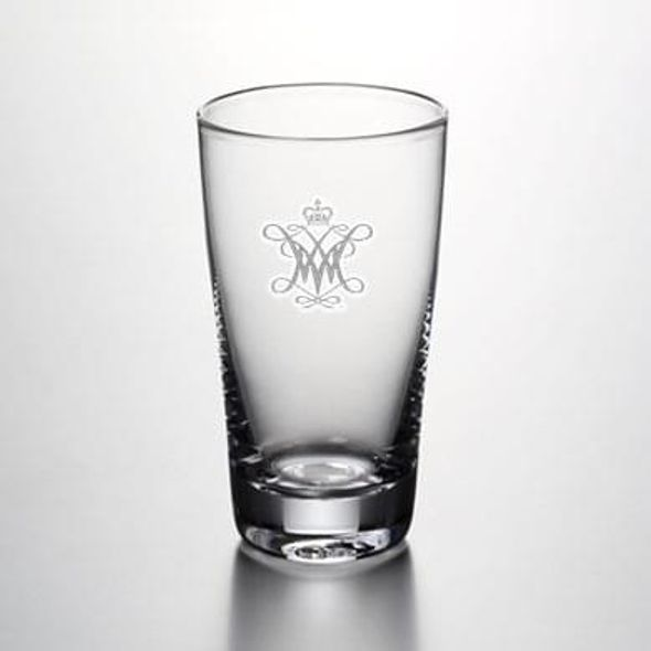 William & Mary Pint Glass by Simon Pearce