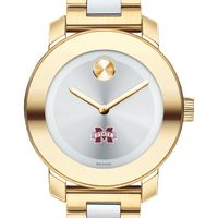 Mississippi State Women's Movado Two-Tone Bold