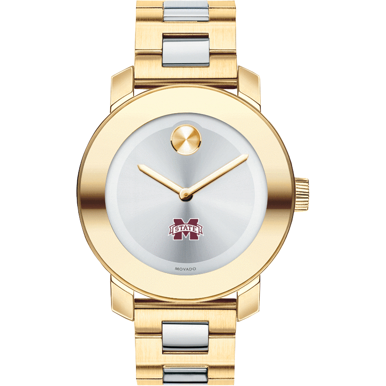 Mississippi State Women's Movado Two-Tone Bold - Image 2