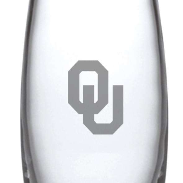 Oklahoma Glass Addison Vase by Simon Pearce - Image 2