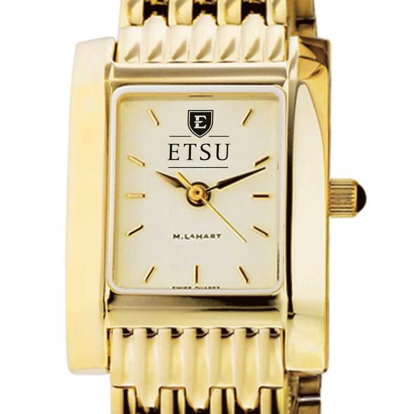 East Tennessee State University Women's Gold Quad with Bracelet - Image 1