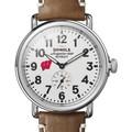 Wisconsin Shinola Watch, The Runwell 41mm White Dial - Image 1