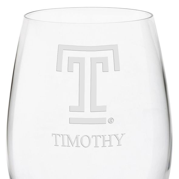 Temple Red Wine Glasses - Set of 4 - Image 3