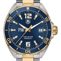 MIT Men's TAG Heuer Two-Tone Formula 1 with Blue Dial & Bezel