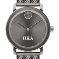 Pi Kappa Alpha Men's Movado BOLD Gunmetal Grey with Mesh Bracelet