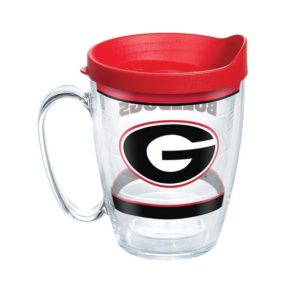 Georgia 16 oz. Tervis Mugs- Set of 4 - Image 1