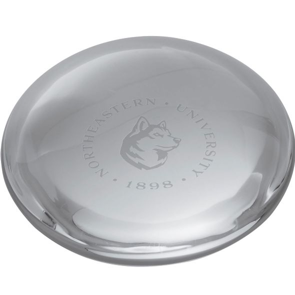Northeastern Glass Dome Paperweight by Simon Pearce - Image 2
