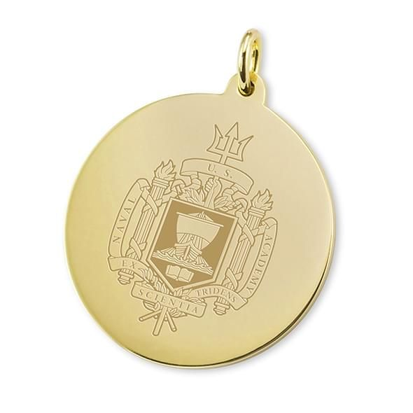 Naval Academy 18K Gold Charm