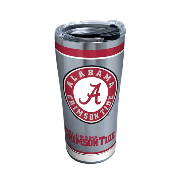 Alabama 20 oz. Stainless Steel Tervis Tumblers with Hammer Lids - Set of 2 - Image 1