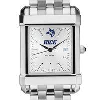 Rice University Men's Collegiate Watch w/ Bracelet