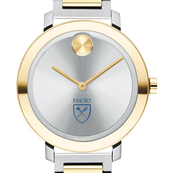 Emory University Women's Movado Two-Tone Bold 34 - Image 1