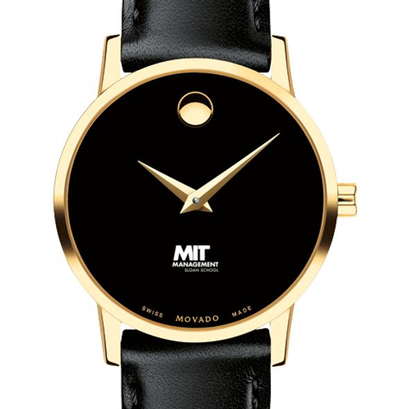 MIT Sloan Women's Movado Gold Museum Classic Leather - Image 1