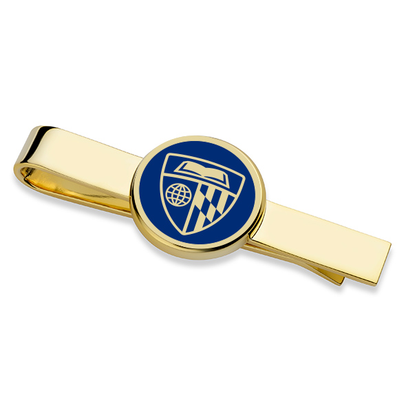 Johns Hopkins University Tie Clip