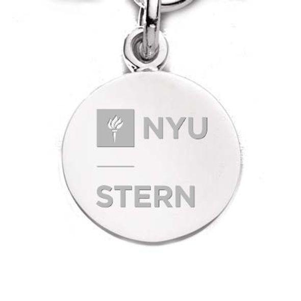 NYU Stern Sterling Silver Charm