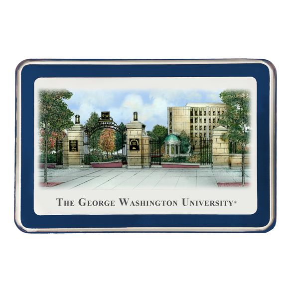 George Washington Eglomise Paperweight