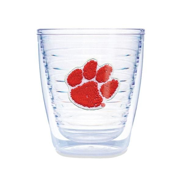 Clemson 12 oz Tervis Tumblers - Set of 4