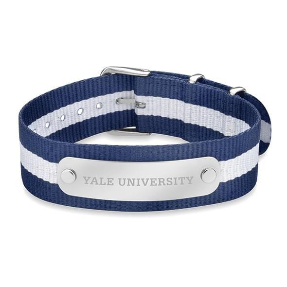 Yale University NATO ID Bracelet - Image 1