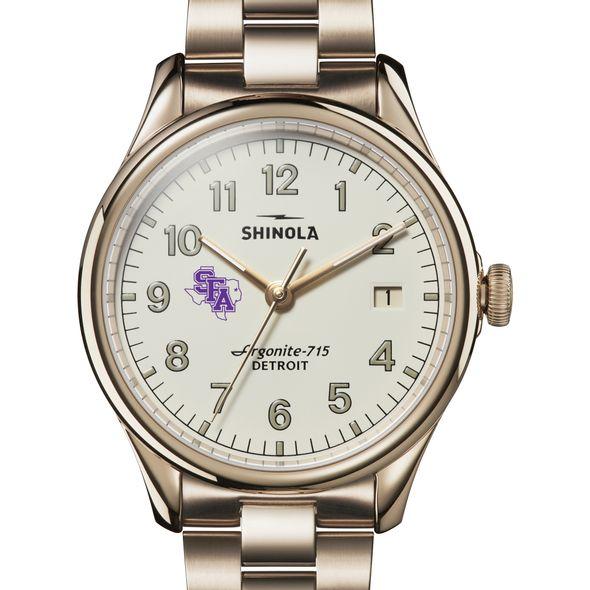 SFASU Shinola Watch, The Vinton 38mm Ivory Dial