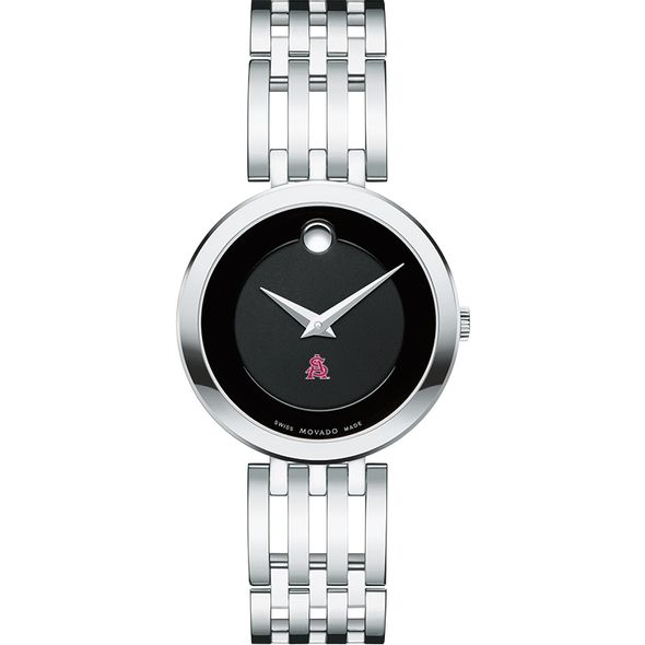 Arizona State Women's Movado Esparanza Stainless Steel Museum with Bracelet - Image 2