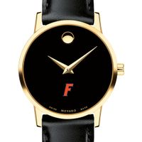Florida Women's Movado Gold Museum Classic Leather