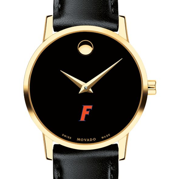 University of Florida Women's Movado Gold Museum Classic Leather - Image 1
