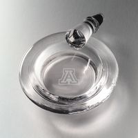 University of Arizona Glass Wine Coaster by Simon Pearce
