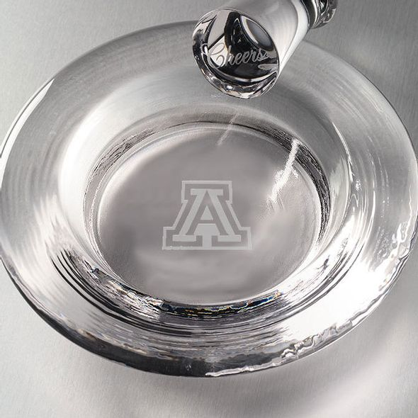 University of Arizona Glass Wine Coaster by Simon Pearce - Image 2