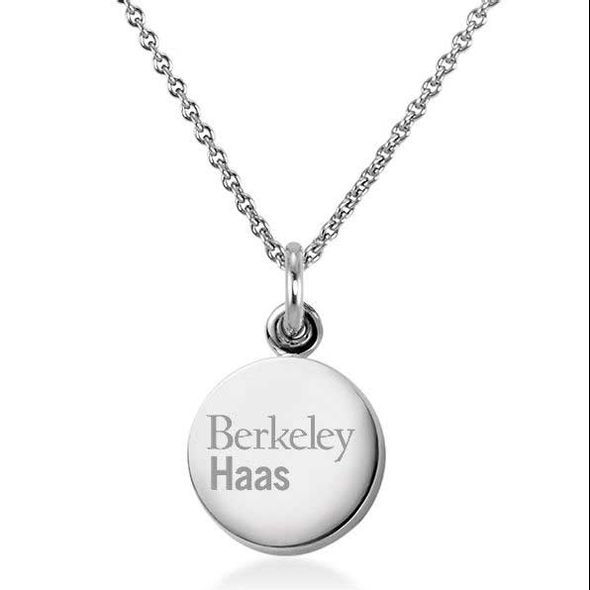 Berkeley Haas Necklace with Charm in Sterling Silver - Image 1