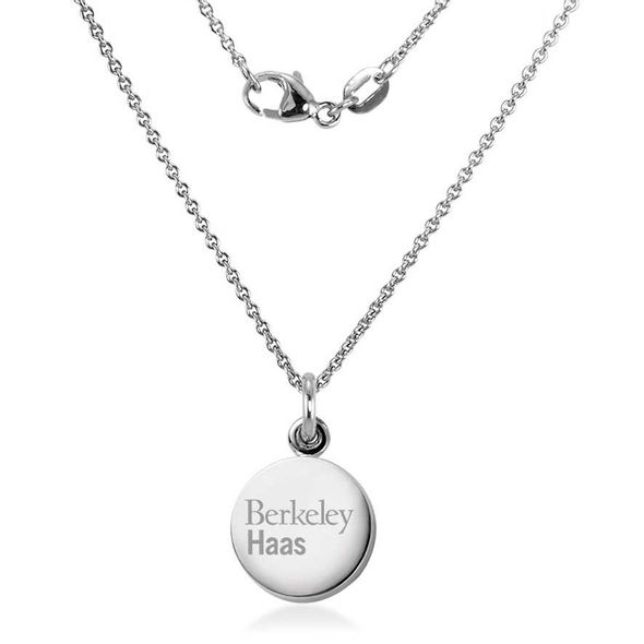 Berkeley Haas Necklace with Charm in Sterling Silver - Image 2