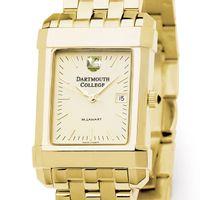 Dartmouth Men's Gold Quad Watch with Bracelet