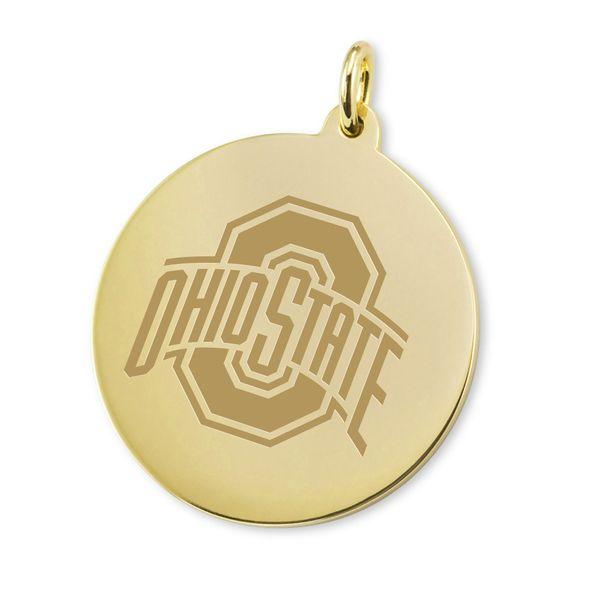 Ohio State 18K Gold Charm - Image 1