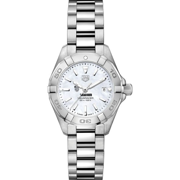 Chicago Booth Women's TAG Heuer Steel Aquaracer w MOP Dial - Image 2