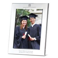 Marquette Polished Pewter 5x7 Picture Frame