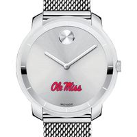 Ole Miss Women's Movado Stainless Bold 36