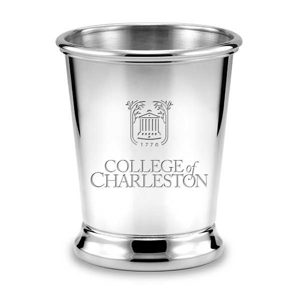 College of Charleston Pewter Julep Cup