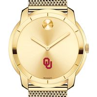 University of Oklahoma Men's Movado Gold Bold 44