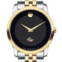 George Washington Men's Movado Two-Tone Museum Classic Bracelet