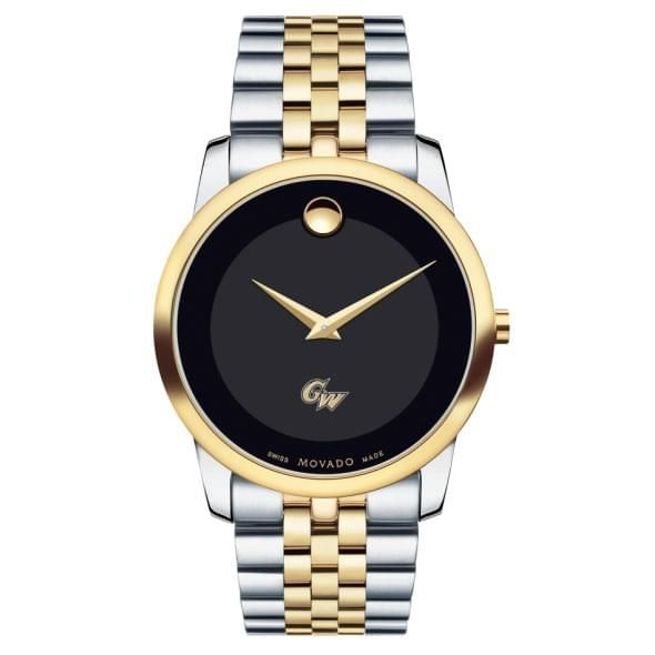George Washington Men's Movado Two-Tone Museum Classic Bracelet - Image 2