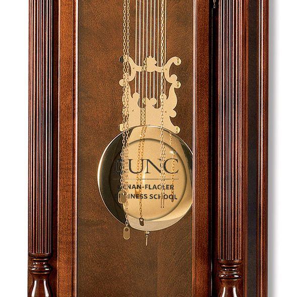 UNC Kenan-Flagler Howard Miller Grandfather Clock - Image 2