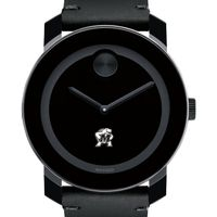 University of Maryland Men's Movado BOLD with Leather Strap