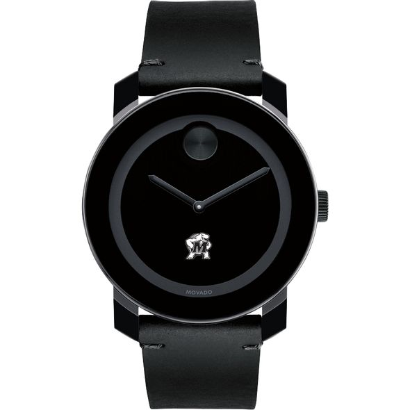 University of Maryland Men's Movado BOLD with Leather Strap - Image 2