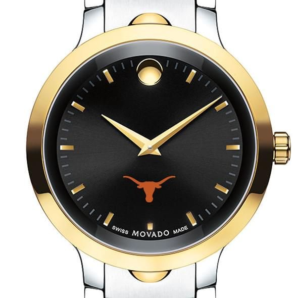 University of Texas Men's Movado Luno Sport Two-Tone