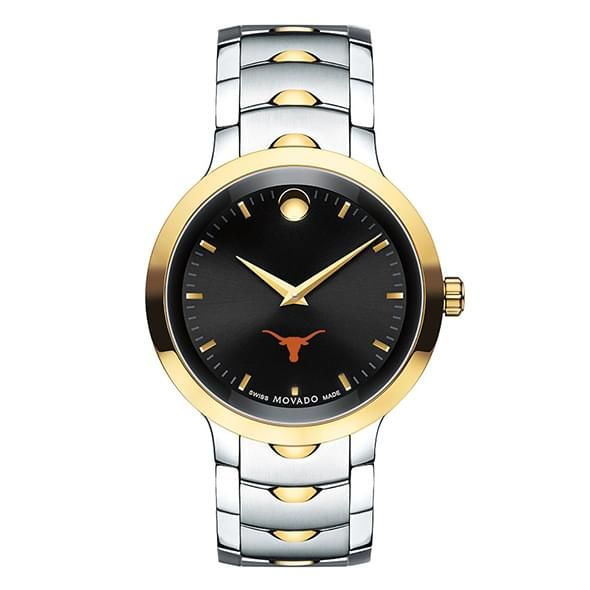 University of Texas Men's Movado Luno Sport Two-Tone - Image 2