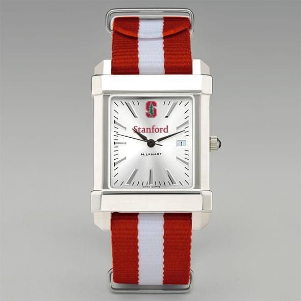 Stanford University Collegiate Watch with NATO Strap for Men - Image 2