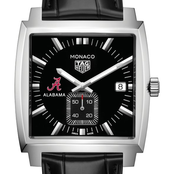 University of Alabama TAG Heuer Monaco with Quartz Movement for Men - Image 1
