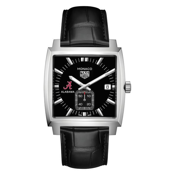 University of Alabama TAG Heuer Monaco with Quartz Movement for Men - Image 2