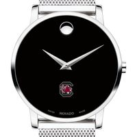 University of South Carolina Men's Movado Museum with Mesh Bracelet